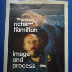 Carteles: RICHARD HAMILTON. IMAGE AND PROCESS. FUNDACIÓ JOAN MIRÓ. 1985. Lote 134108650