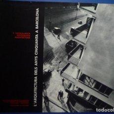Carteles: FRANCESC CATALÀ-ROCA. FOTOGRAFÍASCOL.LEGI ARQUITECTES DE CATALUNYA. Lote 134112250
