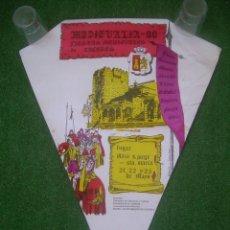 Carteles: CARTEL MEDIEVALIA 88. FIESTAS MEDIEVALES DE CÁCERES 1998, 43X58 CM.. Lote 135612578