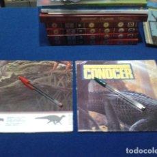 Carteles: LOTE 2 POSTERS REVISTA CONOCER 45X135 LA ERA DE LOS DINOSAURIOS, TRIASICO LAS ESPECIES 1993. Lote 136097950