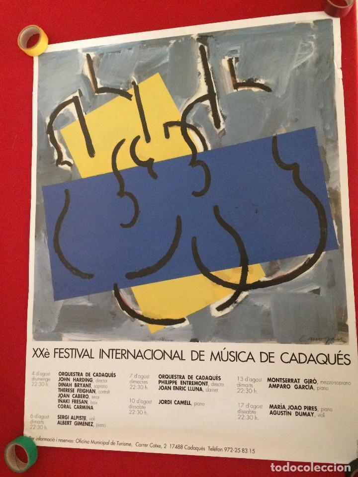 PÓSTER XXÈ FESTIVAL INTERNACIONAL DE CADAQUÉS (Coleccionismo - Carteles Gran Formato - Carteles Varios)