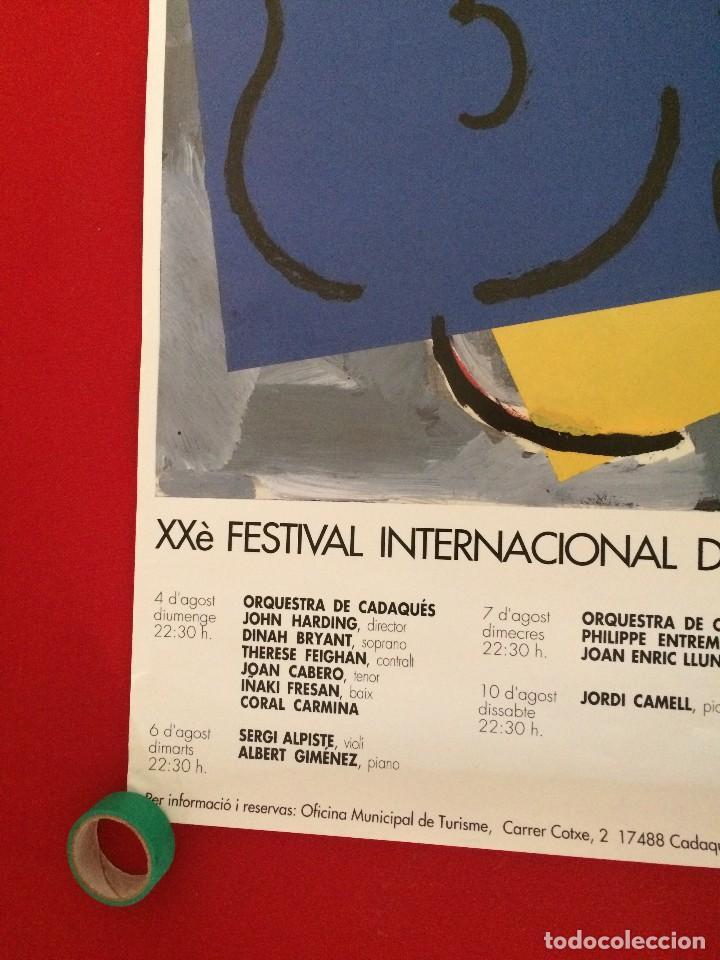 Carteles: PÓSTER XXè FESTIVAL INTERNACIONAL DE CADAQUÉS - Foto 4 - 136305970
