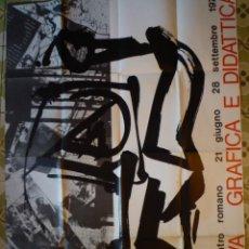 Carteles: EMILIO VEDOVA. GRAFICA E DIDATTICA. 1975. Lote 137431414