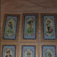 Carteles: CASA DE MUÑECAS, LAMINAS NIÑOS VICTORIANOS, JUGUETE ANTIGUO LAMINAS PARA CUADROS. Lote 137877658