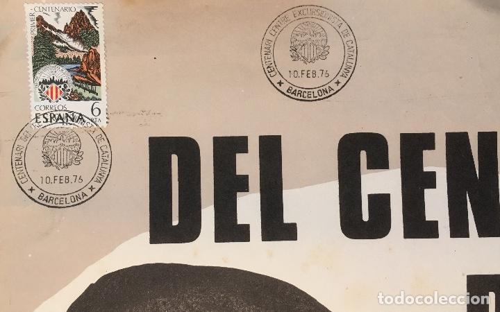 Carteles: JOAN MIRÓ. CENTENARI DEL CENTRE EXCURSIONISTA DE CATALUNYA 1876-1976. LITOGRAFIA - Foto 4 - 137880530