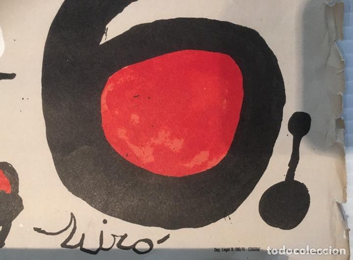 Carteles: JOAN MIRÓ. CENTENARI DEL CENTRE EXCURSIONISTA DE CATALUNYA 1876-1976. LITOGRAFIA - Foto 5 - 137880530