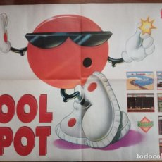 Carteles: POSTER DOBLE COOL SPOT - FLASBACK - HOBBY CONSOLAS. Lote 139059386