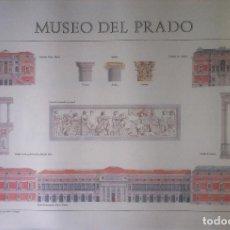 Carteles: MUSEO DEL PRADO. DETALLES ARQUITECTÓNICOS (POSTER) - MINISTERIO DE CULTURA. 45 X 65. Lote 139447150