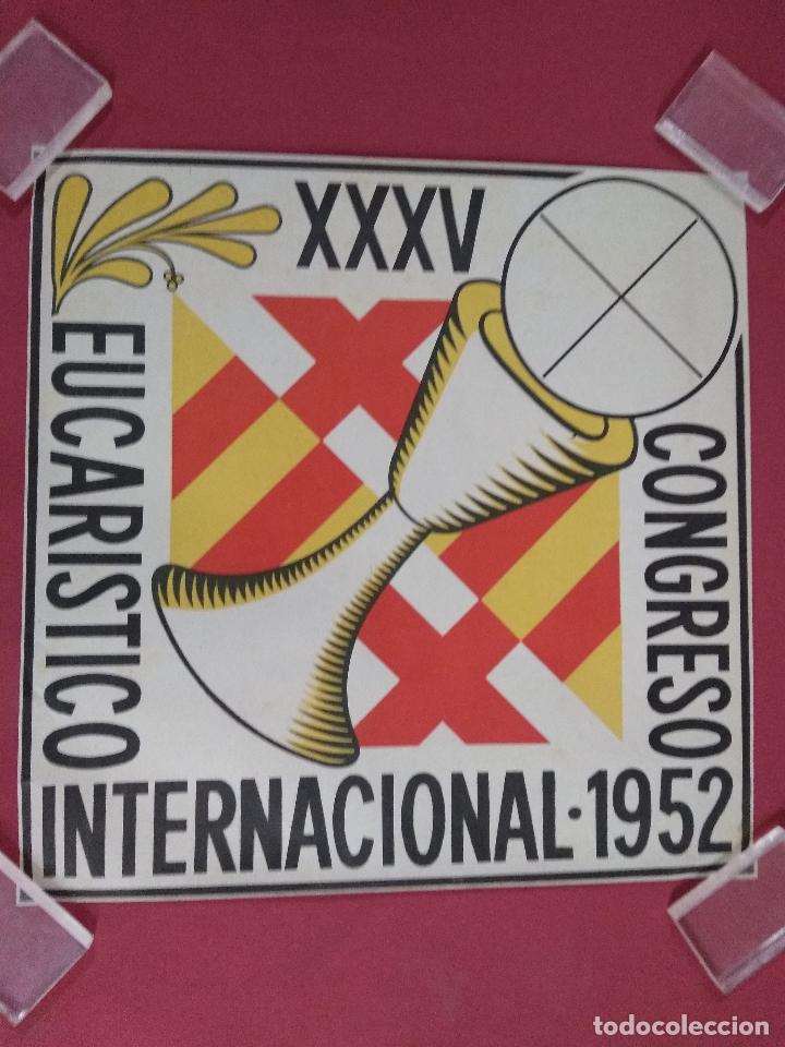 CARTEL. XXXV CONGRESO INTERNACIONAL EUCARISTICO. 1952 (Coleccionismo - Carteles Gran Formato - Carteles Varios)