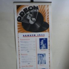 Carteles: ODEON. Lote 140162082
