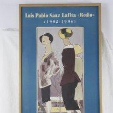 Carteles: CARTEL ILUSTRADOR ARAGONÉS RODIO, AÑO 2000. Lote 140466714