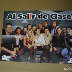 Carteles: POSTER AL SALIR DE CLASE. Lote 140515014