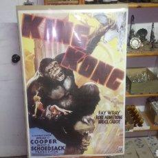 Carteles: PÓSTER DE LA PELÍCULA KING KONG, SE ENVÍA EN UN TUBO DE CARTÓN. Lote 140517982