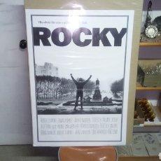 Carteles: PÓSTER DE ROCKY, 90 CM X 64 CM, SE ENVÍA EN UN TUBO DE CARTÓN. Lote 148863713