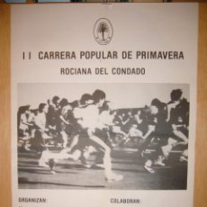 Carteles: II CARRERA POPULAR. Lote 147405622