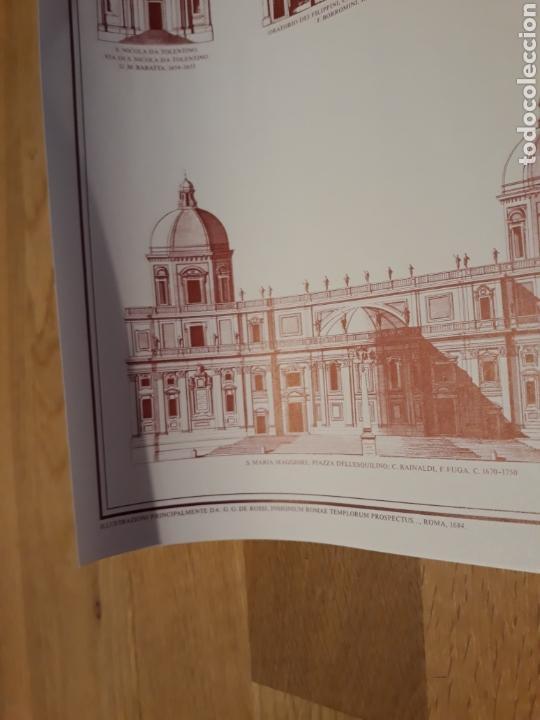 CARTEL / PÓSTER ARQUITECTURA IGLESIAS DE ROMA DEL RENACIMIENTO Y DEL BARROCO 1450 - 1750 (Coleccionismo - Carteles Gran Formato - Carteles Varios)