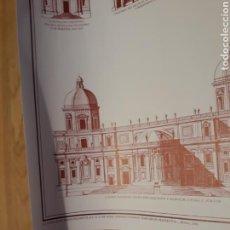 Carteles: CARTEL / POSTER ARQUITECTURA IGLESIAS DE ROMA DEL RENACIMIENTO Y DEL BARROCO 1450 - 1750. Lote 266552663