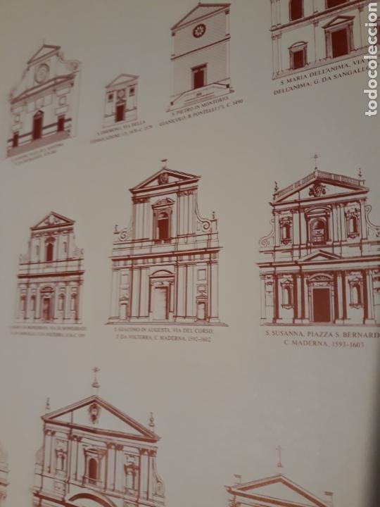 Carteles: Cartel / póster arquitectura Iglesias de Roma del renacimiento y del barroco 1450 - 1750 - Foto 2 - 266552663