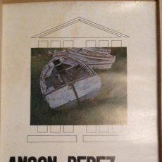 Carteles: ANSON PÉREZ TEMPLE ROMÀ DE VIC 1976 . Lote 149567438