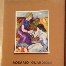 Carteles: ROSARIO GUARDIOLA SUBEX GALERIA D'ART 1975 50 X 34 CMS.. Lote 149568770