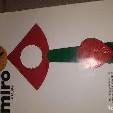 Carteles: CARTEL EXPOSICION MIRO ESCULTOR, DE 90 X 55 CM.. Lote 149599734