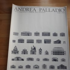Carteles: CARTEL /POSTER ARQUITECTURA ANDREA PALLADIO,VILLAS,PALACIOS E IGLESIAS DEL VENETO. Lote 149994990