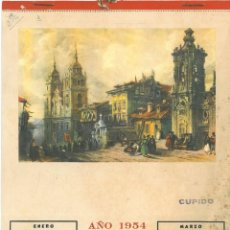 Carteles: CALENDARIO PARA 1954. Lote 150037566