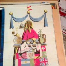 Carteles: CARTEL ARTESANIA 1952. Lote 150091374