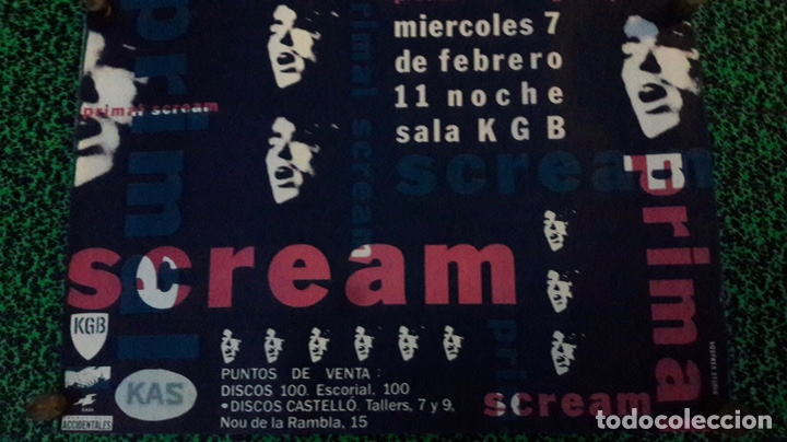 Carteles: Original póster cartel concertó SCREAM - Foto 1 - 151058530