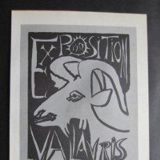 Carteles: 1963-MUSEO ARTE MODERNO PARIS. EXPOSICIÓN DE PABLO PICASSO. 4 CARTELES ORIGINALES DE 1963. Lote 151364918
