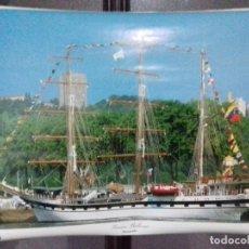Carteles: CARTEL.GRAN REGATA COLON 92. SIMON BOLIBAR. VENEZUELA. 1992.. Lote 151488762