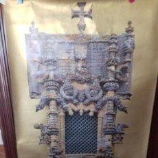 Carteles: CARTEL. JANELA DO CAPITULO CONVENTO DE CRISTO. TOMAR PORTUGAL.. Lote 151502658