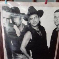 Carteles: CARTEL GRUPO DE MUSICA DE ORIGEN IRLANDES. U2.. Lote 151503090