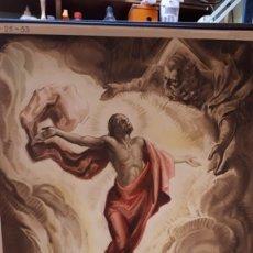 Carteles: CARTEL RELIGIOSO VILAMALA, MICIANO, ASCENSIÓN DE JESÚS. Lote 151529490