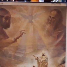 Carteles: CARTEL RELIGIOSO VILAMALA, MICIANO, MISIÓN DE LOS APÓSTOLES. . Lote 151530366