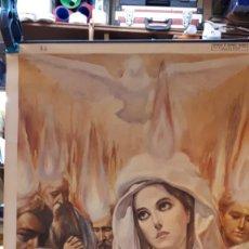 Carteles: CARTEL RELIGIOSO VILAMALA, MICIANO, VENIDA DEL ESPÍRITU SANTO. . Lote 151530846