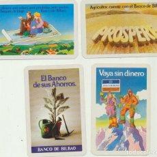 Carteles: CALENDARIO FOURNIER. BANCO CENTRAL. LOTE DE 4. A?O 1977. Lote 151674282