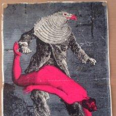 Carteles: MARTIN SHARP (AUSTRALIA, 1942–2013) THE BIRDMAN, MAX ERNST CARTEL LITOGRAFICO SOBRE PAPEL DE ALUMINI. Lote 153598318