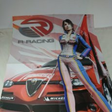 Carteles: POSTER DOBLE R : RACING HOBBY CONSOLAS - NAMCO 57X45CM. Lote 153679276