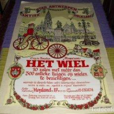 Carteles: CARTEL MUSEO HET WIEL - ANTWERPEN -. Lote 154406914