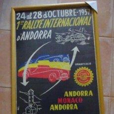 Carteles: CARTEL ANDORRA 1957. Lote 155365042