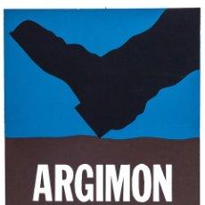 Carteles: ARGIMON. GALERIA SEN 1972 - AUTOR:ARGIMON I GRANELLL DANIEL (SARRIÀ 1929 - BARCELONA 1996). Lote 155749140