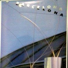 Carteles: CARTEL. OLIMPIADAS BARCELONA 1992. PLACA D,UROPA. ESCULTURES A. MIYAWAKI.. Lote 156922994