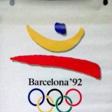 Carteles: CARTEL. OLIMPIADAS BARCELONA 1992. JUEGOS DE LA XXV OLIMPIADA BARCELONA 1992.. Lote 156923022