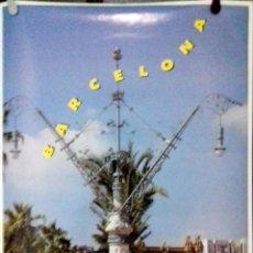 Carteles: CARTEL. OLIMPIADAS BARCELONA 1992. ARC DE TRIOMF.. Lote 156923038