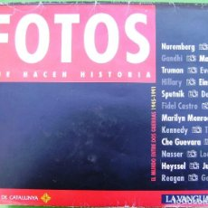 Carteles: FOTOS QUE HACEN HISTORIA, EL MUNDO ENTRE DOS GUERRAS 1945/1991 - 60 LÁMINAS POSTERS. Lote 158313822