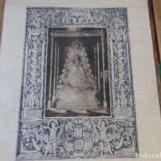 Carteles: CARTEL , GRABADO ,LITOGRAFIA O SIMILAR VIRGEN DEL ROCIO SANTIAGO MARTINEZ IGNACIO CEPEDA 1935 . Lote 159338382