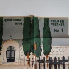 Carteles: CONJUNTO DE 5 CARTELES DE 1946. Lote 160457902