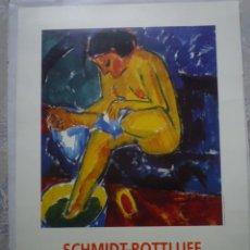Carteles: SCHMIDT-ROTTLUFF. COLECCIÓN BRUCKE- MUSEUM BERLIN. FUNDACIÓN JUAN MARCH. 2000. Lote 160489306
