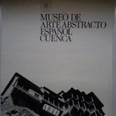 Carteles: MUSEO DE ARTE ABSTRACTO ESPAÑOL CUENCA. CARTEL INAUGURAL. Lote 160506418